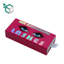 Printing Cardboard Customized New Design Eyelash Box